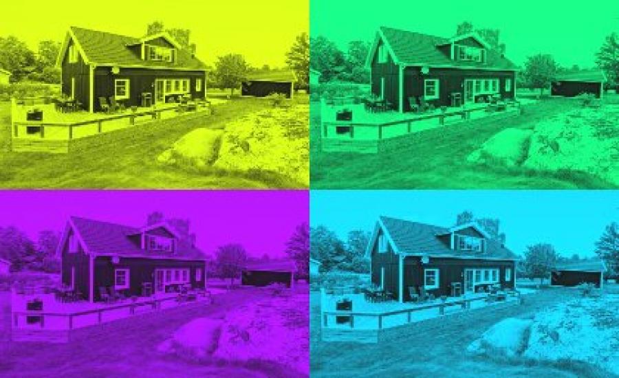6 черных домов для эстетов