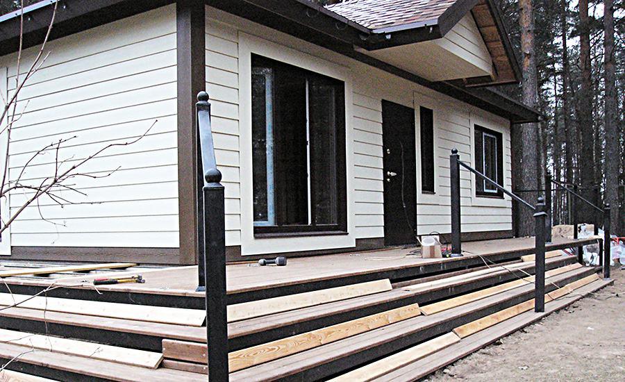 Гостевой домик в стиле шале: детали строительства